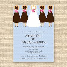 bridesmaid card wording bridal luncheon invitation wording bridal shower invitations