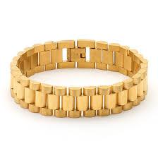 steel bracelet images 15mm stainless steel gold rolex link bracelet men 39 s bracelets jpg