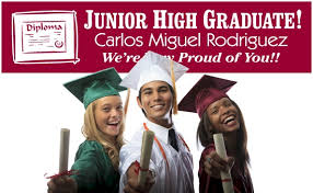 high school senior banners junior high school graduation banners party decorations