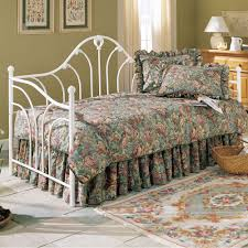 Wrought Iron Daybed Emma Iron Daybed In Antique White Humble Abode