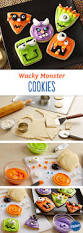 wacky monster cookies recipe monsters decorating and face