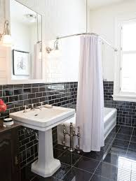 black tile bathroom ideas black tile bathroom home tiles