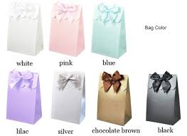 bridal shower gift bags bridal shower personalized candy bag favor bridal shower favors