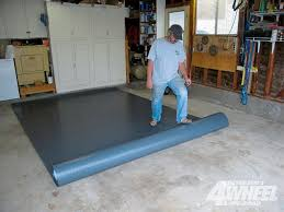 131 0905 04 z gloor vinyl garge flooring roll out mats photo