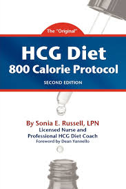 hcg diet 800 calorie protocol second edition sonia e russell
