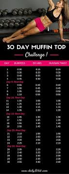 Challenge How To Do It To Lose Belly Do The Exercises Shown In The Pic 10 Times Each
