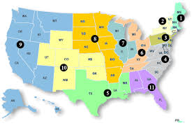 federal circuit court map federal circuit map of standards