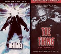 comparing the thing from another world 1951 u0026 the thing 1982