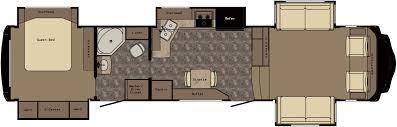 fifth wheel floor plans front living room remodel interior