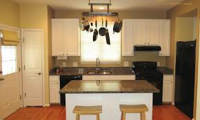 Kitchen Island Pot Rack Lighting Outstanding Custom Norwood Model In Braemar U2013just Listed For