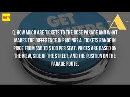 how much is it to go to the zoo lights how much does it cost to go to the rose parade youtube