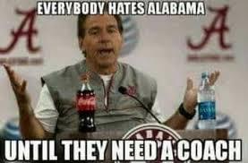 Alabama Football Memes - sec memes alabama auburn in crosshairs as college football playoff