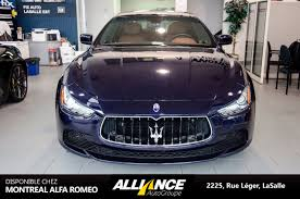 maserati montreal pre owned alfa romeo inventory alfa romeo dealer near laval qc