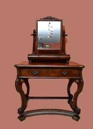 antique dressing table with mirror 19th century victorian mahogany dressing table mirror for sale at