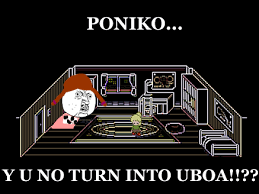 Y U No Reply Meme - uboa poniko