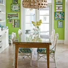 Lime Green Dining Room Our All Time Favorite Green Rooms White Wicker Chair Wicker