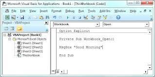 tutorial microsoft excel lengkap pdf vba tutorial excel excel tutorial workbook event code excel