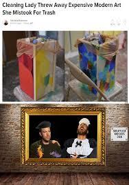 Modern Art Meme - modern art is trash literary by doulla meme center