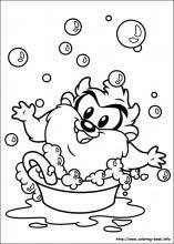 baby looney tunes coloring pages coloring book