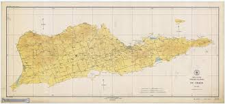 map st croix st croix usvi historical map 1923 nautical chart prints