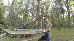 Duck Boat Blind Pictures How To Build Your Own Duck Blind Dugout Vs Scissors Style Youtube