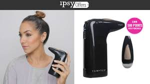 Professional Airbrush Makeup System How To Airbrush Your Makeup Using Temptu Air Youtube