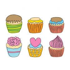 Vintage Cupcake Clipart More Information