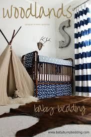 Fishing Crib Bedding Adventure Themed Nursery Woodlands Baby Boy Bedding Deer Baby