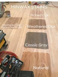 Flooring Wood Stain Floor Colors From Duraseal By Indianapolis by Minwax Stains We Are Considering Pickled Oak Weathered Oak