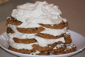 oatmeal cookie icebox cake bittersweet