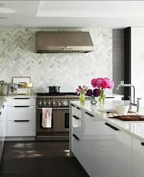 backsplash modern kitchen backsplash ideas white interior modern