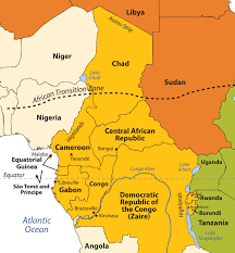 Map Of Nigeria Africa by Subsaharan Africa