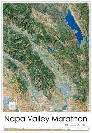 Map Of Napa Valley Course Maps Napa Valley Marathon