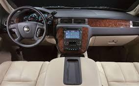 Chevrolet Suburban Interior Dimensions 2007 Chevrolet Suburban 1500 Ltz Vs 2007 Ford Expedition El
