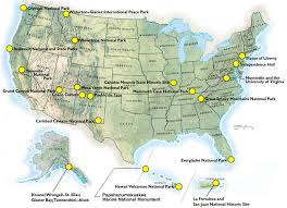 us map states national parks a map of all the major national parks in the us how many