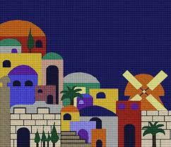 33 best judaic themed needlepoint kits and canvases images on