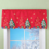 Snowman Valances Window Valance U0026 Scarves Collections Etc