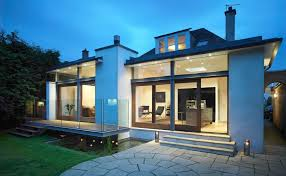 modern extensions modern extensions patio contemporary with back garden wicker