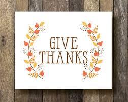 give thanks give thanks printable thanksgiving decor