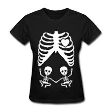 pregnant skeleton halloween shirt online get cheap skeleton maternity shirt aliexpress com