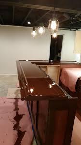 Build Your Own Basement Bar by Beginning To End Diy Basement Bar Album On Imgur
