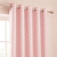 Dunelm Curtains Eyelet Annie Pink Thermal Eyelet Curtains Dunelm