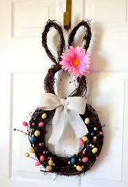 easter door decorations easter bunny door wreath easter door decoration diy easter craft