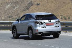 lexus drivers europe spyshots 2018 lexus rx facelift spied for the first time tokyo