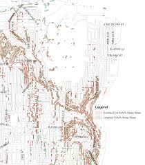 Topographic Map Seattle by Land Use Notices Madison Valley Area Sep 2 Oct 3