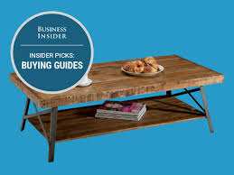 best wood for coffee table the best coffee tables you can buy business insider