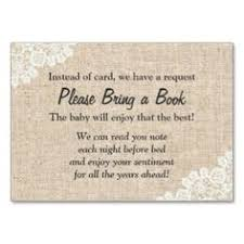 bring book instead of card to baby shower printable burlap and lace baby shower bring a book instead of a