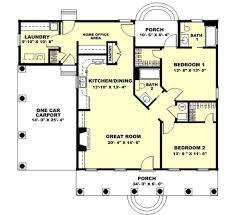 country style house plan 2 beds 2 00 baths 1301 sq ft plan 44 160