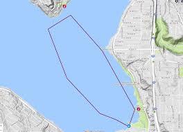 Washington Ferry Map Christmas Ship Festival Argosy Cruises
