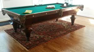 Antique Brunswick Pool Tables by Philadelphia U0026 South Jersey Billiards And Pool Tables Lanza
